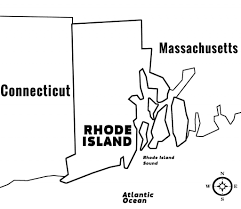 Map Of Ri Rhode Island Ri State Information