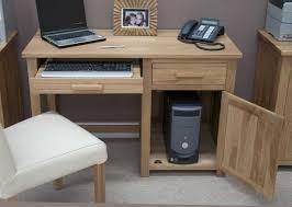 Small Oak Computer Desk Computer Desks Oak For Small Spaces New Furniture