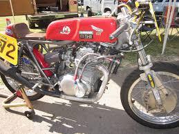 vintage honda oldmotodude honda cb350 road racer at omrra vintage daze