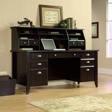 Computer Desk With Hutch Black Office Furniture Mission Furniture Craftsman Furniture