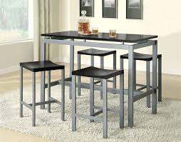 Bar Table And Stool Set Table And Stools Set Espresso Counter Height Dining Bar Table