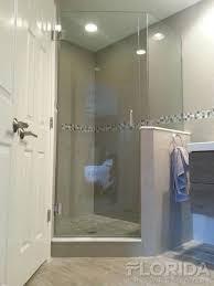 3 Panel Shower Doors Shower Doors Custom Frameless Shower Doors Florida Shower Doors