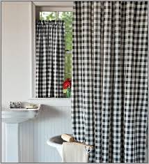 Drapes Black And White Trend Of Black And White Checkered Curtains And Windowpane Plaid