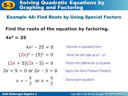 solving quadratic equations by graphing and factoring worksheet
