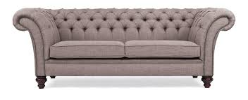 Handmade Chesterfield Sofas Uk Linen Chesterfield Sofa Handmade In The Uk