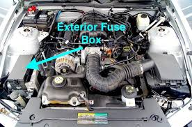2007 ford mustang fuse box location ford mustang v6 and ford mustang gt 2005 2014 fuse box diagram