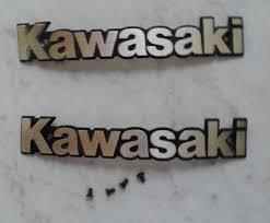 kawasaki emblem tank emblem kawasaki ltd 440 orginalteil motorradteile gebraucht