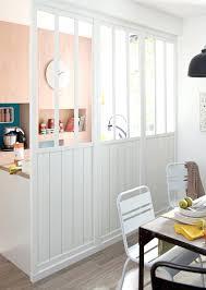 cloison pour chambre cloison chambre salon une cloison blanche en verre et bois pour