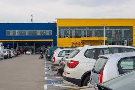 ikea parking lot ikea parking lot editorial image image of store many 39139905