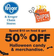 Halloween Sale Kroger Halloween Sale 50 Off Candy And Seasonal Merchandise