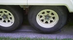 burning up trailer tires youtube