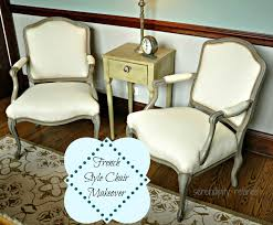 serendipity refined blog french style side chair makeover chalk