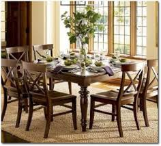 Interesting Dining Room Tables Pottery Barn Cameron Fixed Table By - Pottery barn dining room set