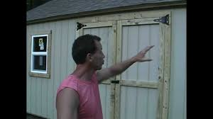 shed tips 1 cutting your doors and windows the easy way youtube