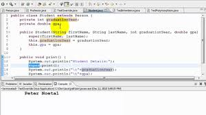 java tutorial inheritance and polymorphism youtube