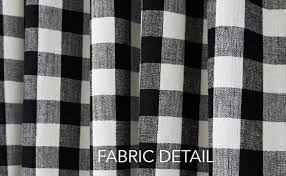 Navy Buffalo Check Curtains Curtain Black And Off White Gingham Buffalo Check Valance Bedding