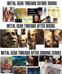 Metal Gear Solid Meme - image 742938 metal gear metal gear solid and metals
