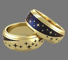 sti wedding ring sti by spectore titanium two tone dome wedding band men