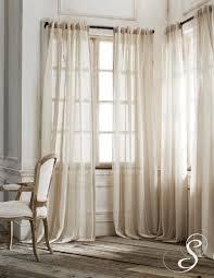 White Linen Blackout Curtains Black Curtain Homey Sheer Curtains For Front Door Windows And
