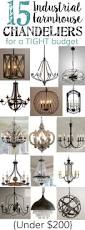 15 industrial farmhouse chandeliers for a tight budget bless u0027er