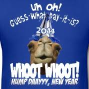 Happy New Year Meme 2014 - happy new year geico hump day hump day camel new years eve 2014
