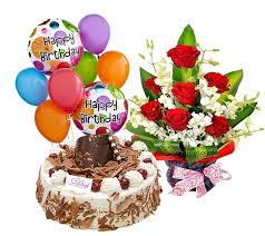 flowers and balloons flowers cake and balloons flowers cake and balloons
