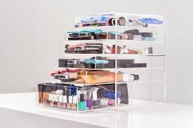 Makeup Organizer Desk by Clear Acrylic Makeup Organizer W Drawers Ediva