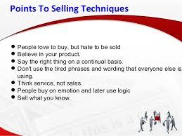 real estate sales techniques