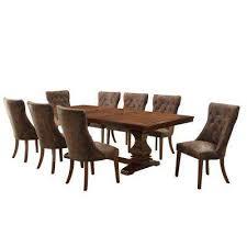Solid Oak Dining Room Furniture Dining Room Sets Kitchen U0026 Dining Room Furniture The Home Depot