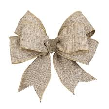 burlap ribbon 2 5 wide wired burlap ribbon beige via flora