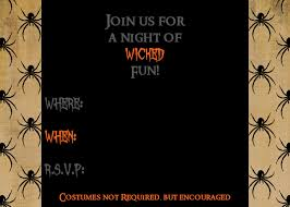 Printable Halloween Invites Halloween Invitation Clipart 51