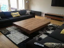 big coffee table amazonica floating style oak beam coffee table boot factory
