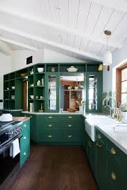 is green a kitchen color green kitchens are a moment architectural digest