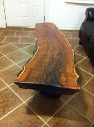 Used Coffee Tables by This Is A Mesquite Log My Father Used To Make A Coffee Table For