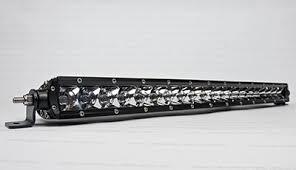 20 single row led light bar ntech led