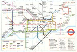 London Metro Map by Map London Transport Deboomfotografie