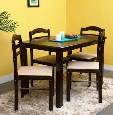 Barbie Dining Room Royaloak Hunter Solid Wood 4 Seater Dining Set Price In India