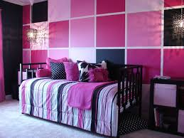 Pink And Black Bedroom Designs Pink And Black Tween Bedroom Contemporary Chicago By