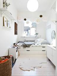 bedroom astonishing white shelves and closet and colorful rug