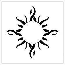 maori sun and moon di fede tocci ink