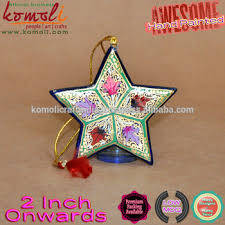 base artistic painted wooden hand painted christmas star american