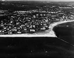 st 49 2a 61 aerial view of kennedy compound in hyannis port