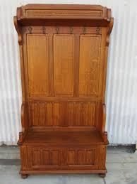 hall tree bench shoe u0026 coat storage
