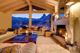 Contemporary Interior Design by Alpine Chic At Its Best 30 Examples Luxury Accommodations