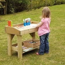 buy outdoor wooden work bench and trestle multi buy tts