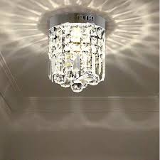 hall and stairs lighting hall light corridor l modern round k9 crystal ceiling l led
