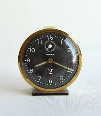 desk clocks modern vintage french alarm clock jaz discreto 60 u0027s 70 u0027s retro table