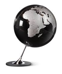 justglobes anglo black contemporary globe desk globes the uk u0027s