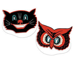Vintage Halloween Decorations 25 Retro Halloween Cutouts Do You Remember Theholidaybarn Com