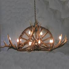 Diy Antler Chandelier The 25 Best Wagon Wheel Chandelier Ideas On Pinterest Wagon